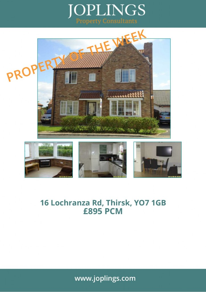Property of the Week - 4 bedroom detached family home