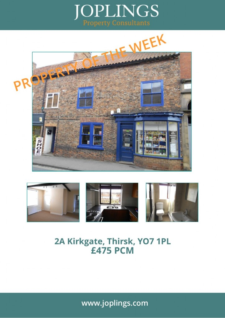 Property of the Week - 1st Floor 2 Bed Apartment